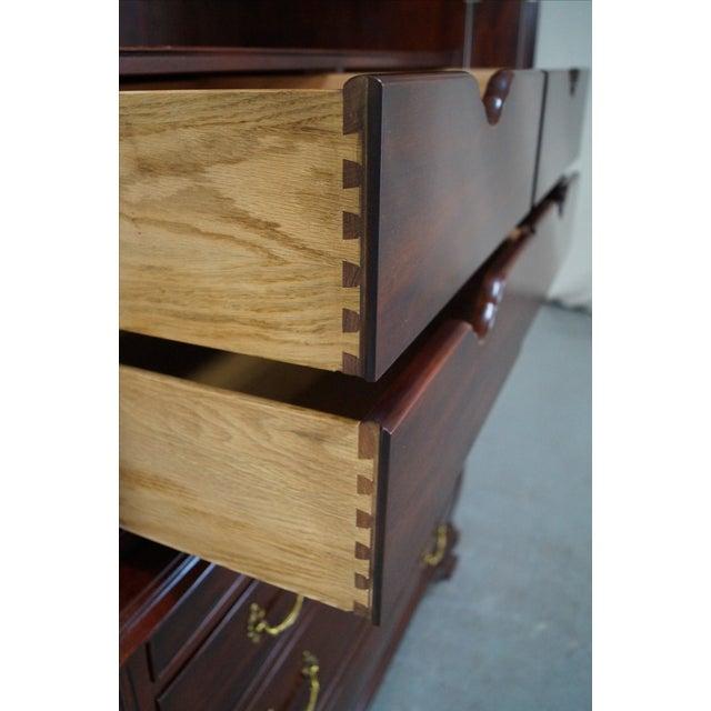 Henkel Harris Mahogany Bombe Base Bedroom Armoire For Sale In Philadelphia - Image 6 of 10