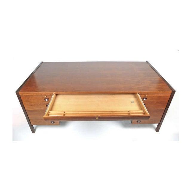 Mid-Century Modern Edward Wormley for Dunbar Executive Desk For Sale - Image 3 of 5