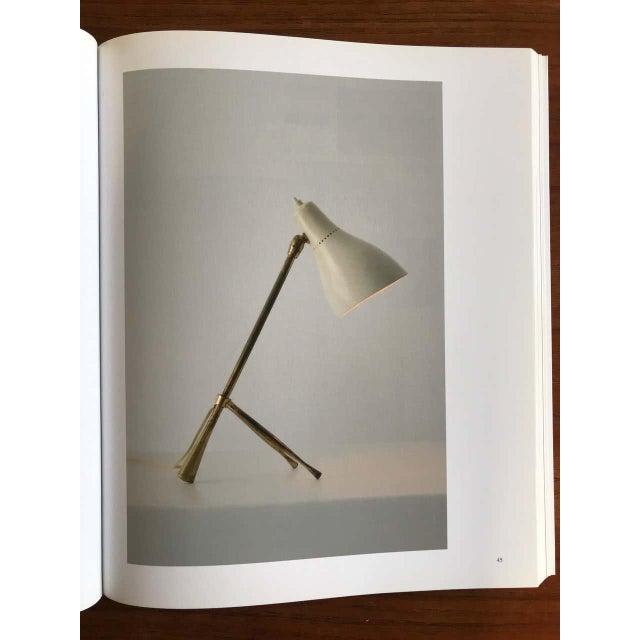 "Italian 1950s Giuseppe Ostuni ""Ochetta"" Yellow Wall or Table Lamp for O-Luce For Sale - Image 3 of 13"