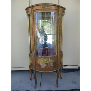 Vernis Martin French Vitrine or Curio Cabinet Preview