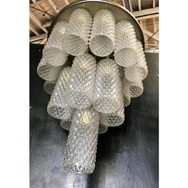 """Italian Murano """"Tronchi"""" Chandelier, 1960s For Sale In Los Angeles - Image 6 of 7"""