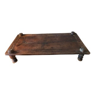 19th Century Anglo-Indian Daybed Coffee Table For Sale