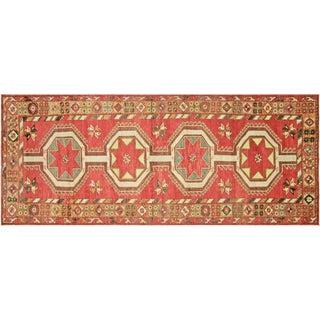 "Nalbandian - 1960s Turkish Oushak Carpet - 4'11"" X 12'7"" For Sale"