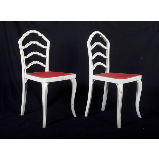 Art Deco Dining Chairs by Thonet, 1930 - Set of 8 For Sale - Image 3 of 11