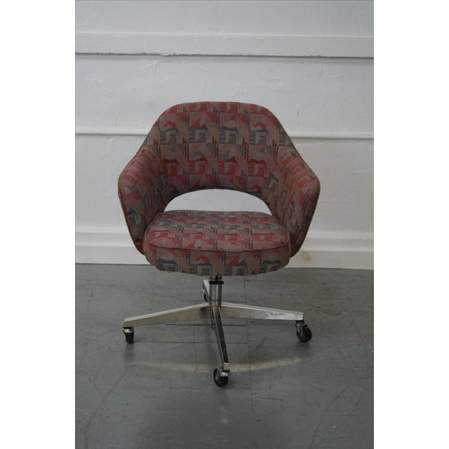 Vintage Mid-Century Saarinen Office Chair - Image 2 of 10
