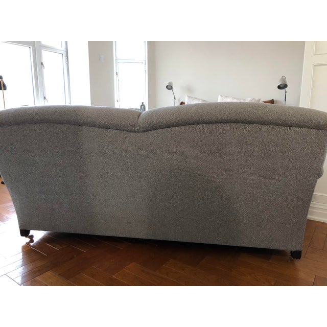Classic, elegant George Smith Standard Arm Signature Sofa. We bought this sofa about 12 years ago and reupholstered it in...