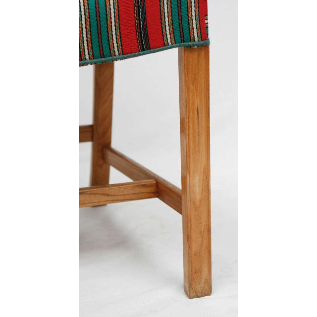 Contemporary Set of Eight Kaare Klint Dining Chairs For Sale - Image 3 of 10