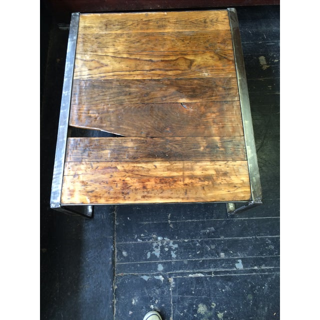 Industrial Pallet Table - Image 5 of 7