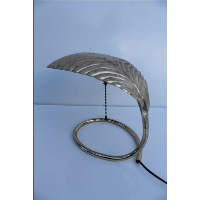 Curved Leaf Reading Lamp - Image 7 of 8