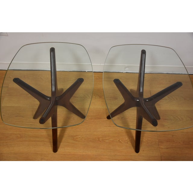 Adrian Pearsall Jacks End Tables - A Pair - Image 3 of 9