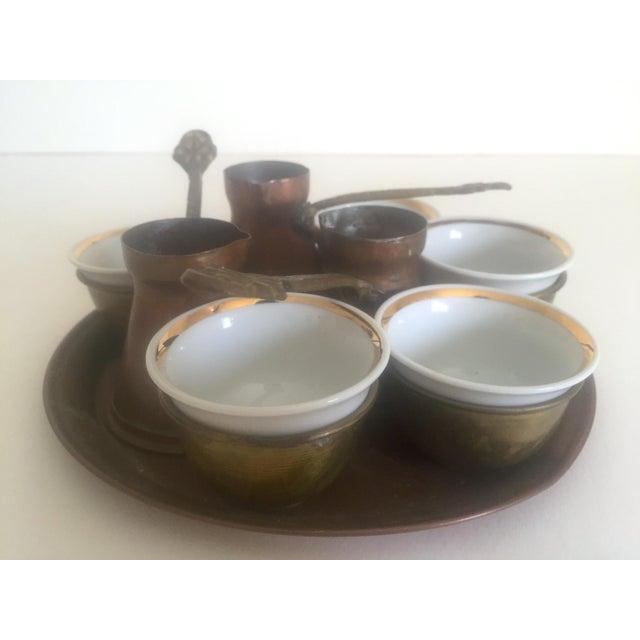 Turkish Bohemian Handmade Coffee Service - Image 6 of 10