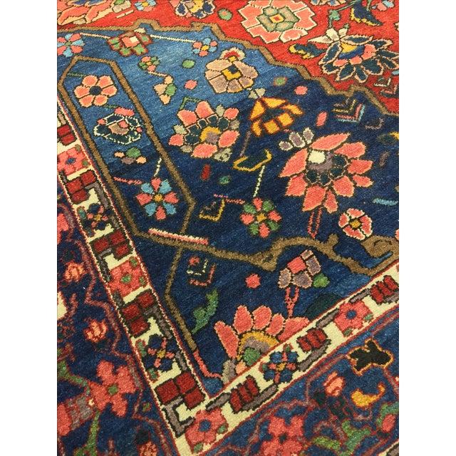 Vintage Persian Bactiari Rug - 6′9″ × 10′2″ - Image 10 of 11
