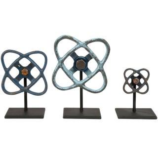 Cast Aluminum Valve Handles on Stands - 3