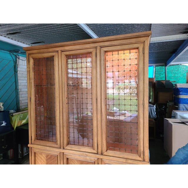 Wood 1960s Drexel Compatica China Cabinet For Sale - Image 7 of 13