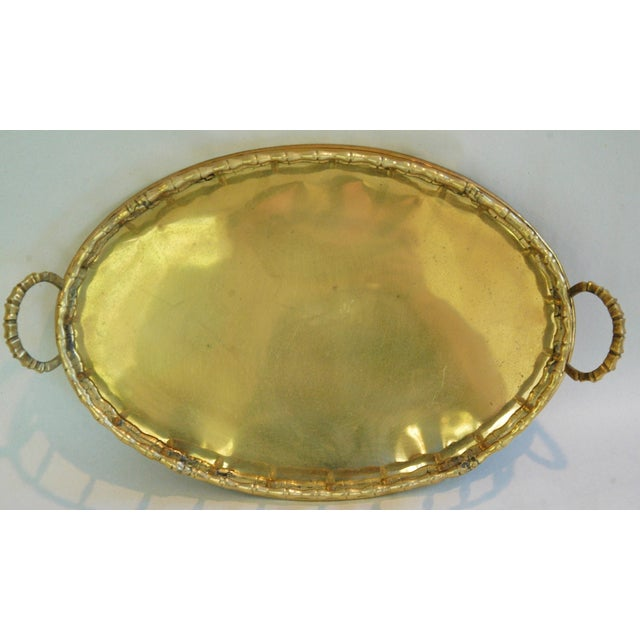 1960s Brass Cocktail Tray - Image 3 of 5
