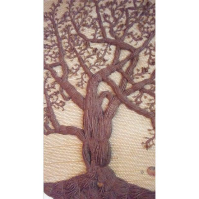 """Original """"Tree of Life"""" Fiber Art by Dan Freedman - Image 7 of 8"""