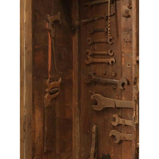Original Paint Italian Boatyard Cabinet For Sale - Image 9 of 10