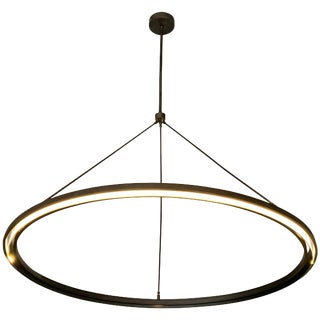 Peralta Round Chandelier by Jon Sarriugarte For Sale