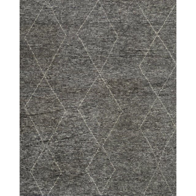 """Not Yet Made - Made To Order Stark Studio Rugs Baha Rug in Greystone, 10'0"""" x 14'0"""" For Sale - Image 5 of 5"""