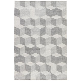 Jaipur Living Vista Indoor/ Outdoor Geometric Gray Area Rug - 8′ × 10′
