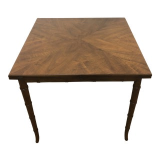 1970s Mid-Century Modern Henredon Expandable Dining Table For Sale