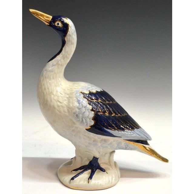 Vintage Glazed Ceramic Ducks - A Pair - Image 5 of 5