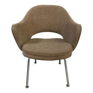 1980s Mid-Century Modern Knoll Saarinen for IBM Executive Armchair For Sale