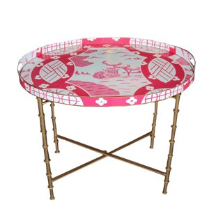 Dana Gibson Canton in Pink Coffee Table