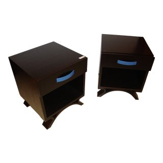 Dakota Jackson End/Night Tables - A Pair For Sale