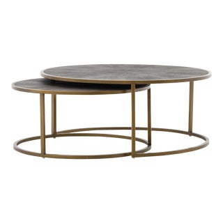 Modern Schuler Nesting Coffee Table For Sale