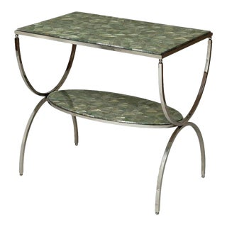 Scarborough House Occasional Table Inlaid Abalone For Sale