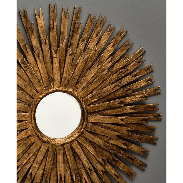 Vintage Spanish Sunburst Mirror For Sale In Austin - Image 6 of 10