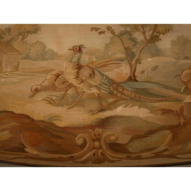 Louis XVI Aubusson Upholstered Settee - Image 3 of 11