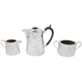 3 Piece Coffee Set For Sale