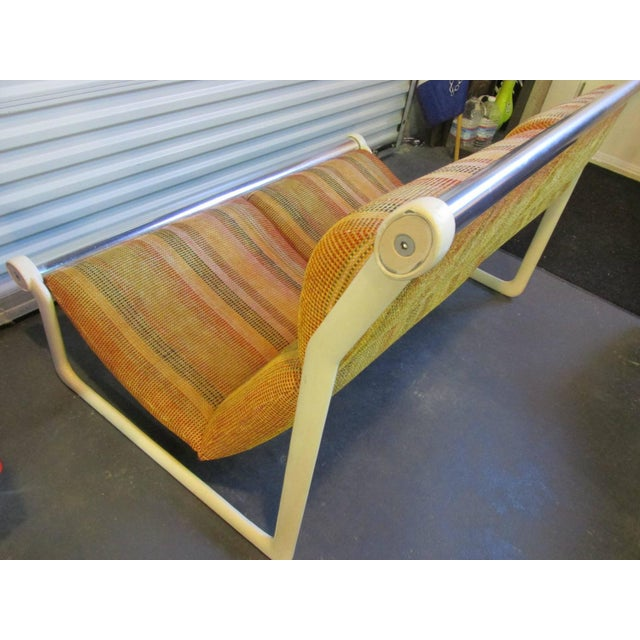 Hannah Morrison for Knoll Sling Sofa For Sale - Image 5 of 7