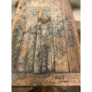 19th Century French Trestle Table Preview