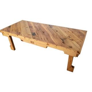 Reclaimed Cedar Pallet Coffee Table