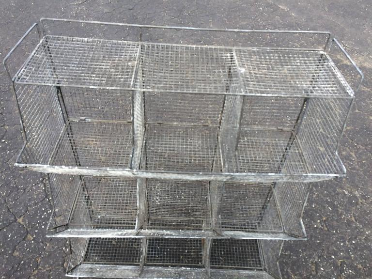 Industrial Style Wire Mesh Storage Bin   Image 4 Of 11