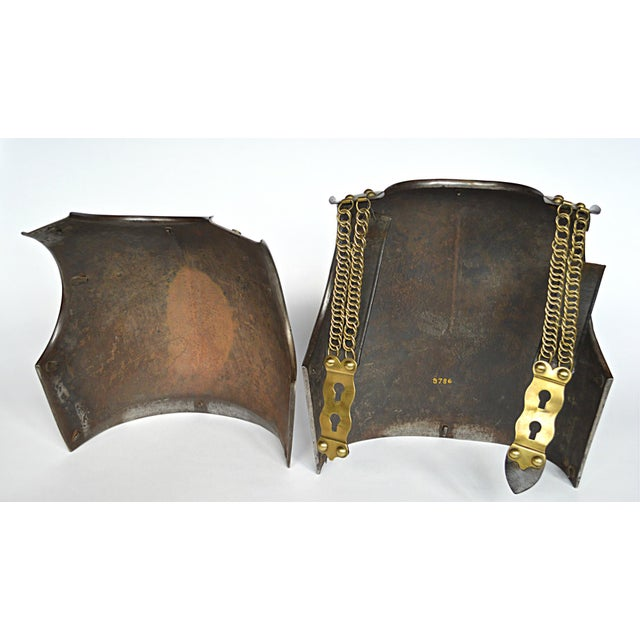 Silver French Cuirassier's Breast and Back Plate For Sale - Image 8 of 11