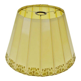 Mid Century Emeloid Lampshade For Sale