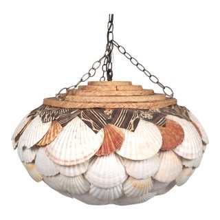 Unusual Shell Chandelier For Sale
