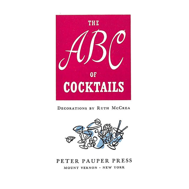 The ABC of Cocktails Book - Image 2 of 6