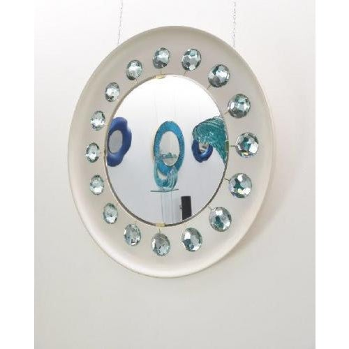 Contemporary The Diamond Mirror by Ghiro Studio For Sale - Image 3 of 4
