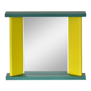 "Marco Zanini for Marutomi Yellow ""You Again"" Mirror For Sale"