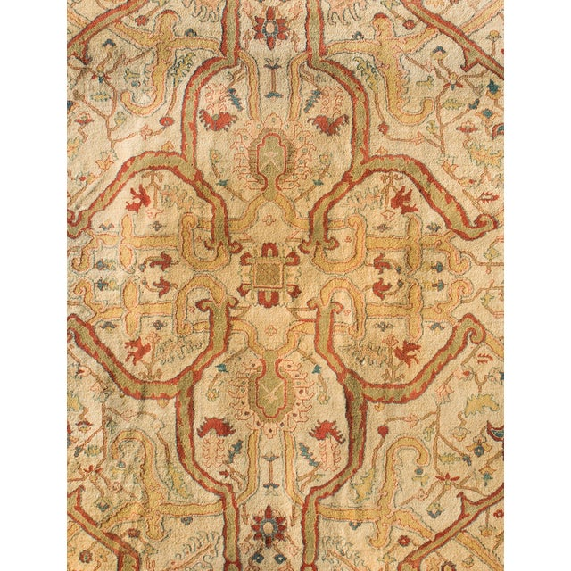 """Vintage Hand Knotted Rug - 8'6"""" X 12' - Image 2 of 4"""