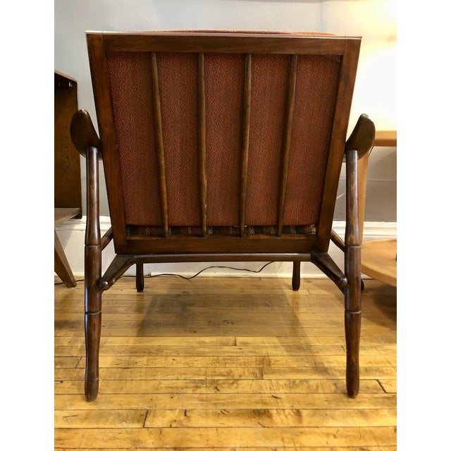 Mid Century Italian Lounge Chair 1960's For Sale - Image 4 of 9