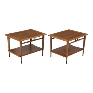 Mid-Century Modern Lane Acclaim Alta Vista End Tables by Andre Bus - a Pair For Sale