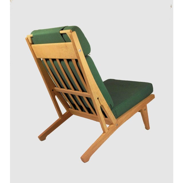 1960s 1960s Vintage h.j. Wegner Lounge Chairs- A Pair For Sale - Image 5 of 8