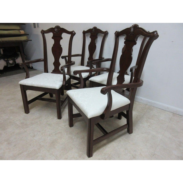"seat height 17"" arm height 25"". Great shape, tight and sturdy. Please see photos as they are considered part of the..."