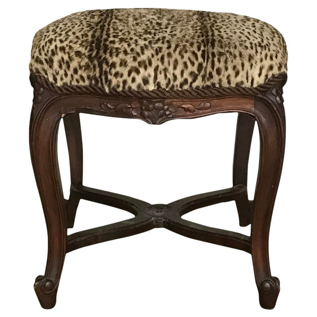 Early 19th Century Antique Louis XIV Style Bench For Sale